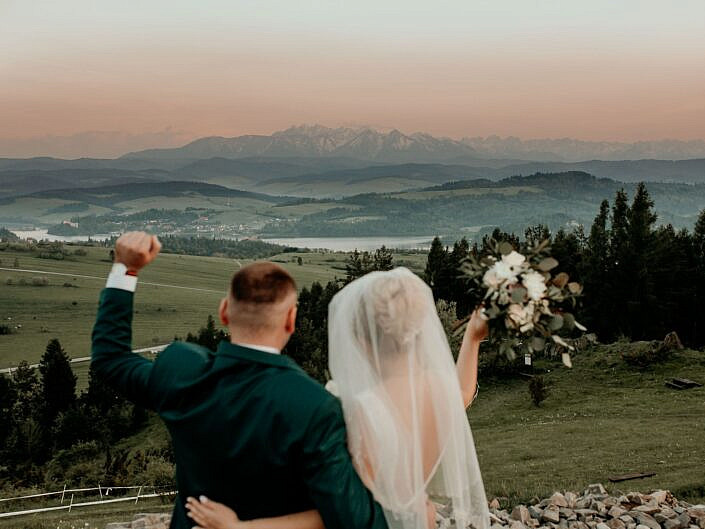 Ślub w Pieninach